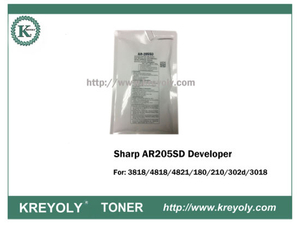 AR205SD Developer pour Sharp 3818/4818/4821/180/210 / 3020d / 3018