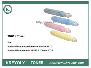 TN619 TONER POUR Bizhub Press C1060 / C1070